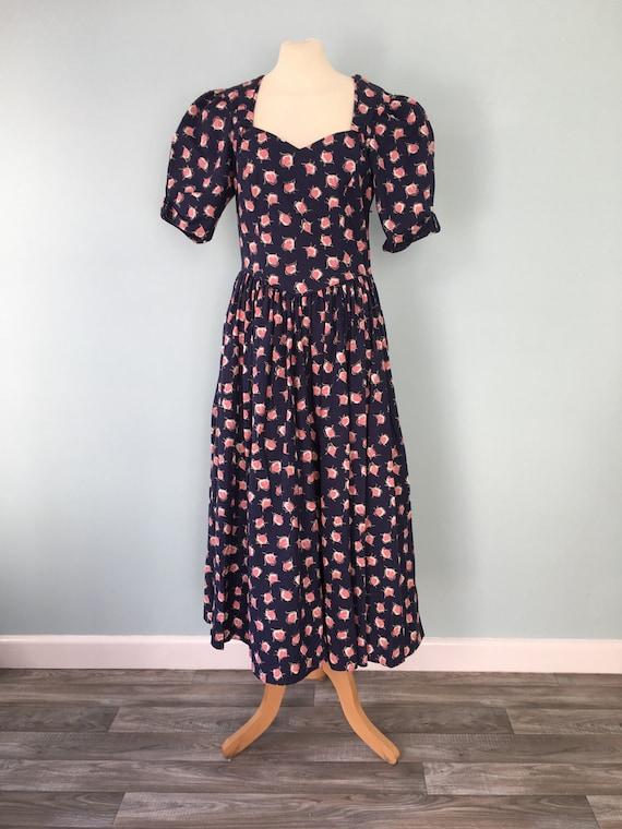 Laura Ashley Dress . Size 12 . Cotton