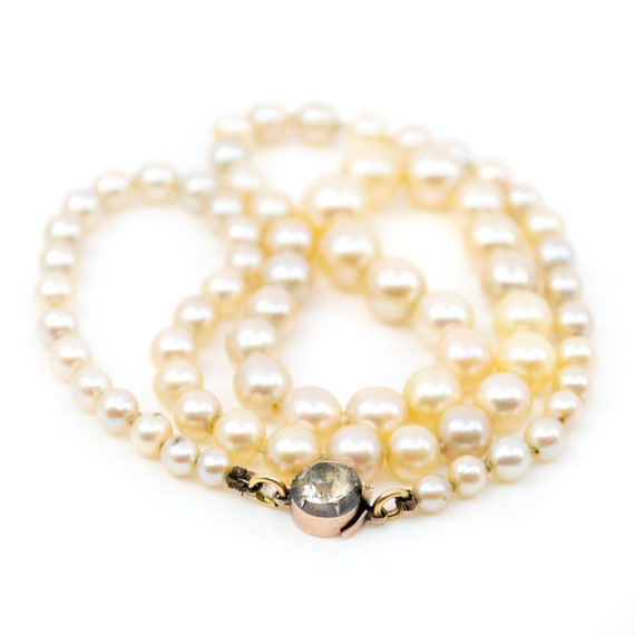 Gold, Paste, Pearl, Necklace 0146RM