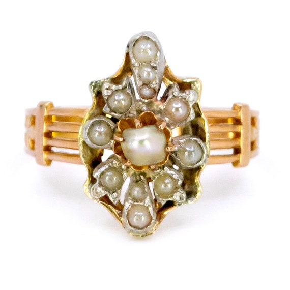 Pearl, Gold Ring 2325GM