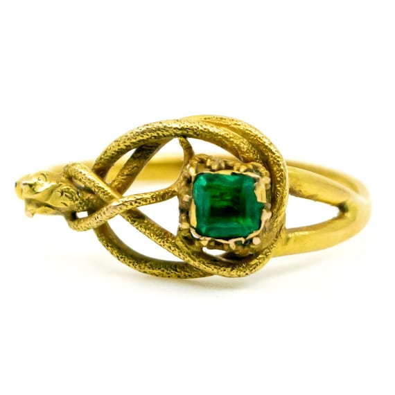 Emerald, Gold Ring 1490SY