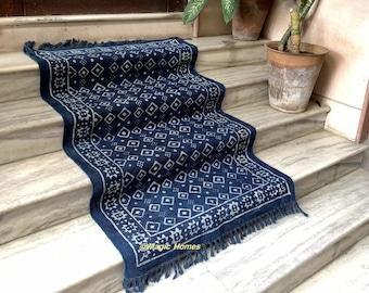 4X6 Feet rug / Area rug / Block printed rug / 48X72 inches / 120X180 cms carpet