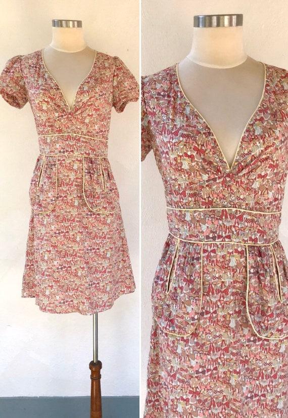 Vintage tea dress Tsumori Chisato dress Japanese d