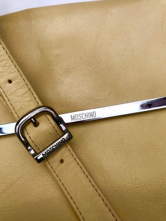 VTG Moschino bag vintage Moschino purse 90s Mosch… - image 2