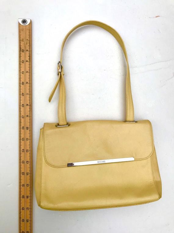 VTG Moschino bag vintage Moschino purse 90s Mosch… - image 4