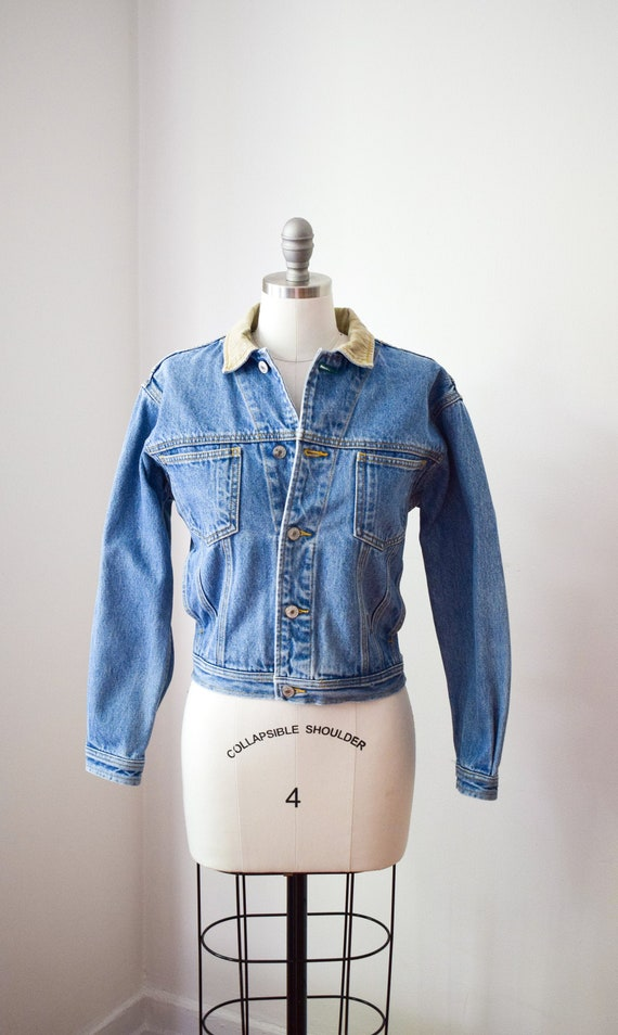 1990's Tommy Jean Jacket - Cropped Denim Jacket