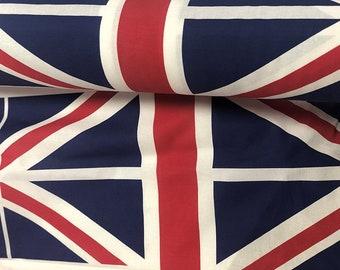 Union Jack Cotton Fabric