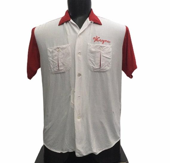 Vintage 1960s bowling shirt