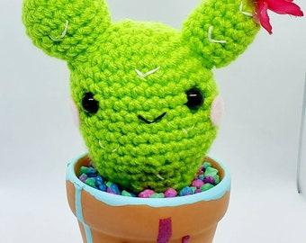 Como tejer CACTUS AMIGURUMI a crochet PASO A PASO (nopal ...   270x340