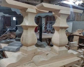 Trestle Table Pedestals (set of 2) Southern Sophistication Design