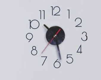 2 inch Classic Clock Numbers-Plotter cut vinyl