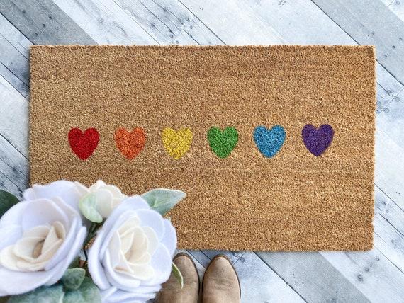 Pride month Doormat