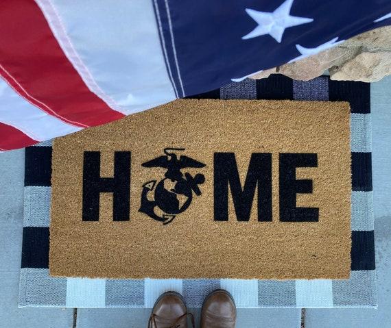 USMC doormat