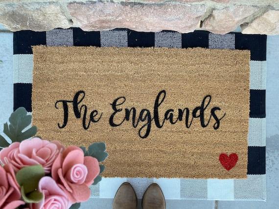 Last Name Doormat