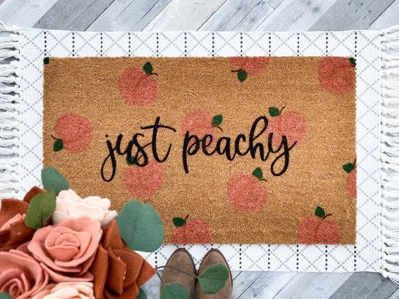 Just Peachy/Peach/Peach Doormat