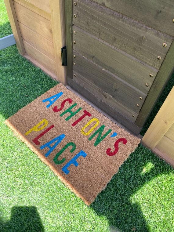 Kids House Doormat