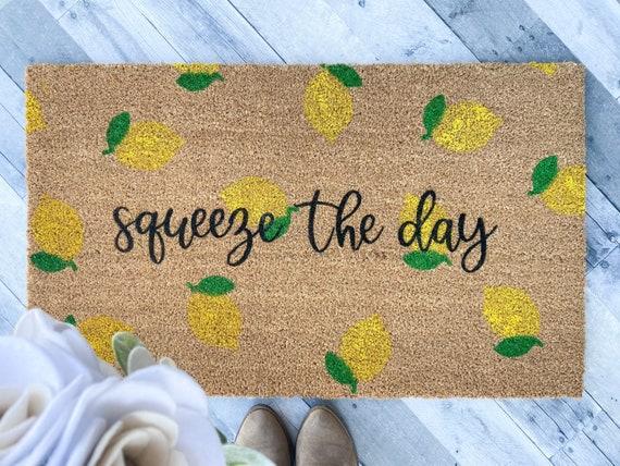 Squeeze the day/Lemon Doormat