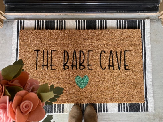 The babe cave doormat