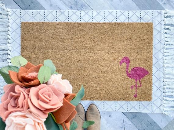 Flamingo Summer Doormat