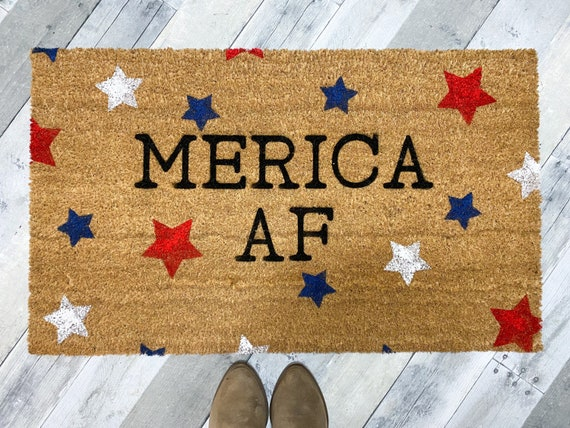 Fourth of July Doormat
