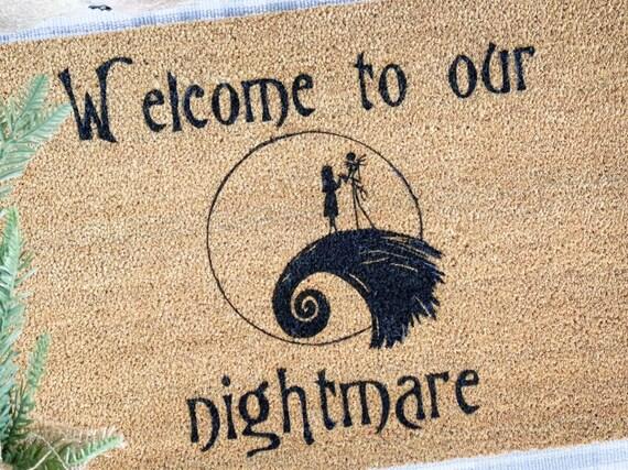 Nightmare before Christmas Doormat