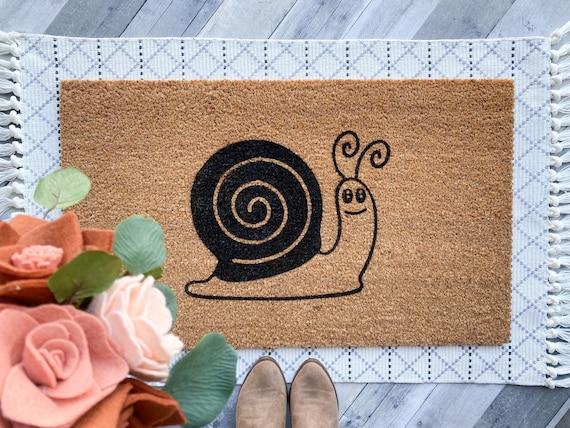 Snail doormat