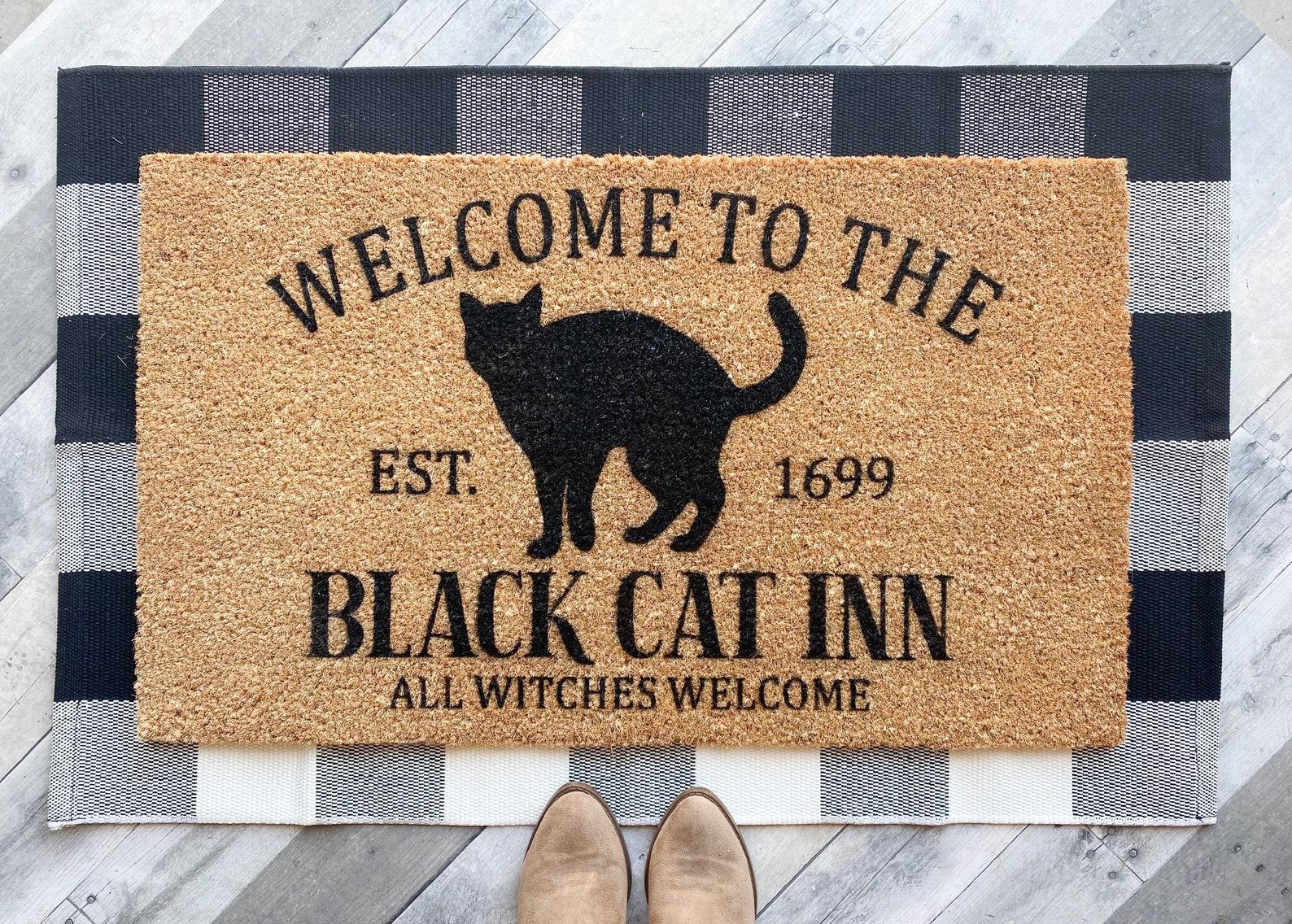 Black Cat Inn Doormat