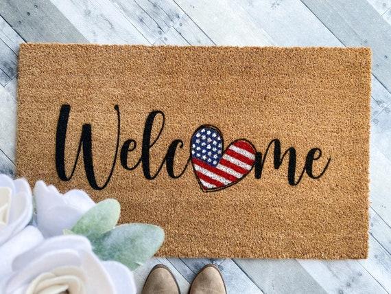 American Flag Welcome