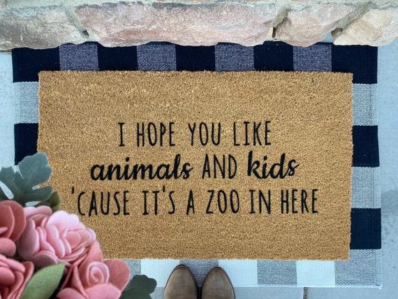 Door Mat- Animals and Kids