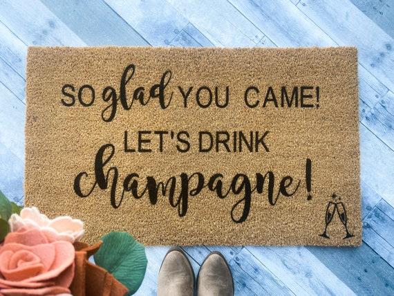 Champagne Doormat