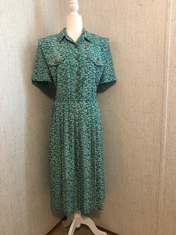 Vintage 80's Leslie Fay Dress