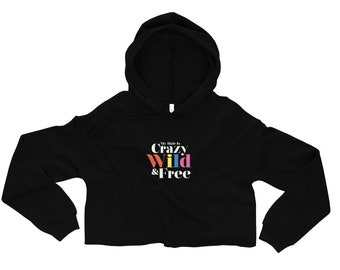 Black Woman Hoodie Afro American Black woman Crop Hoodie Cicely Tyson Just As I Am African American Afro gifts
