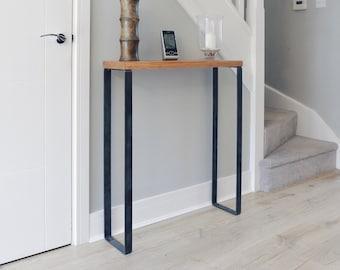 Industrial Hallway Table // Radiator Shelf