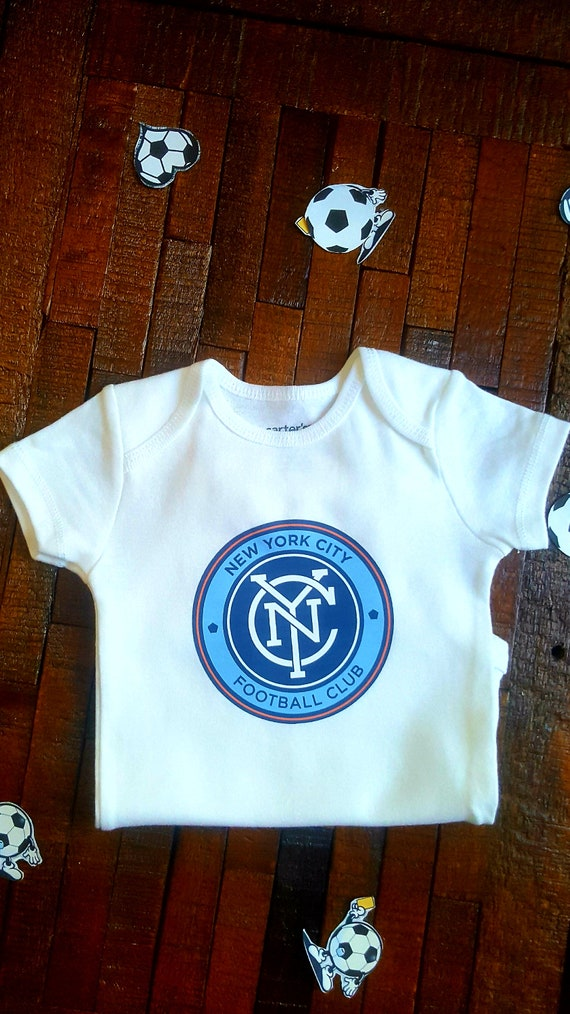 City of New York Custom Personalized Name /& Number Infant or Toddler T-shirt