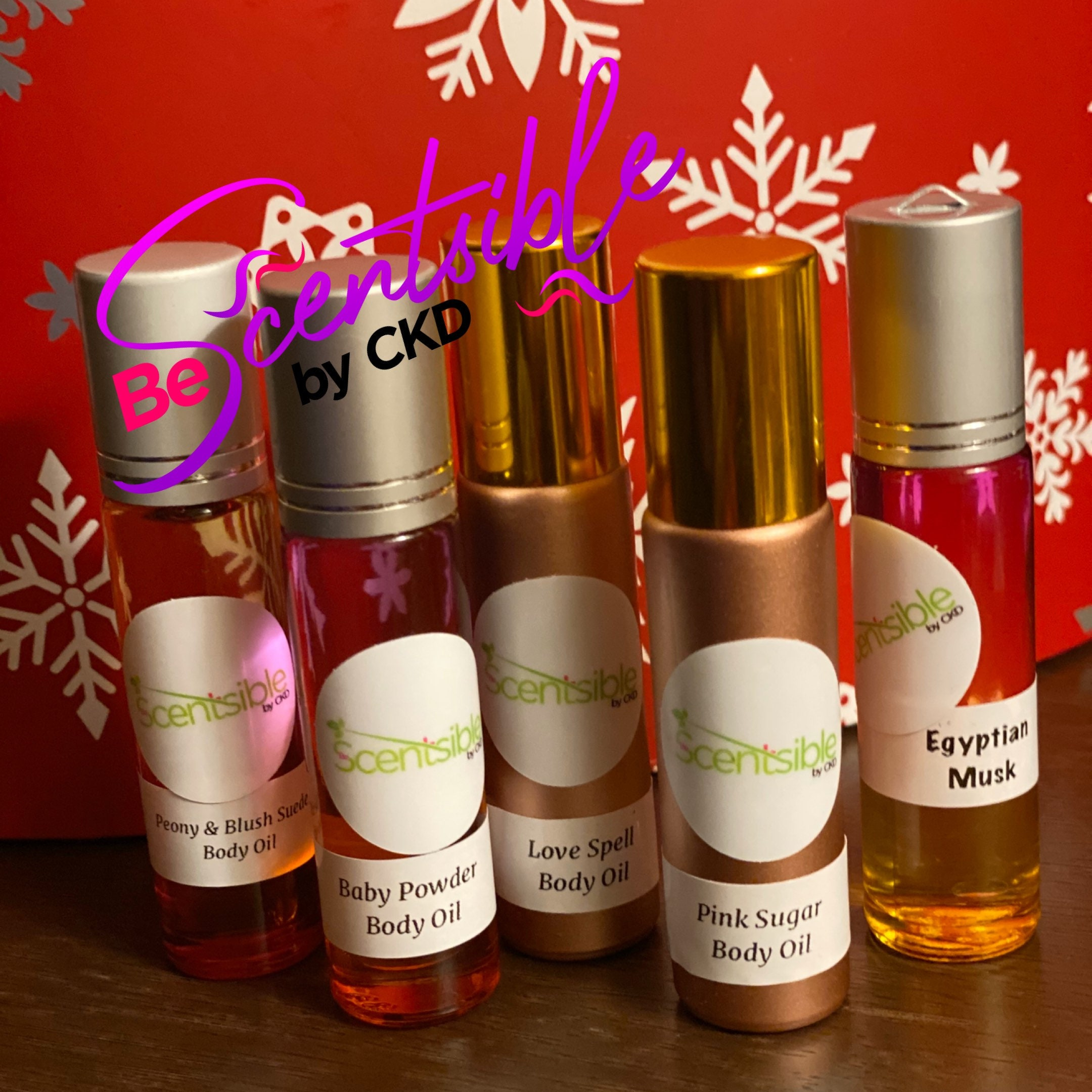 Be Scentsible By CKD Body Oils