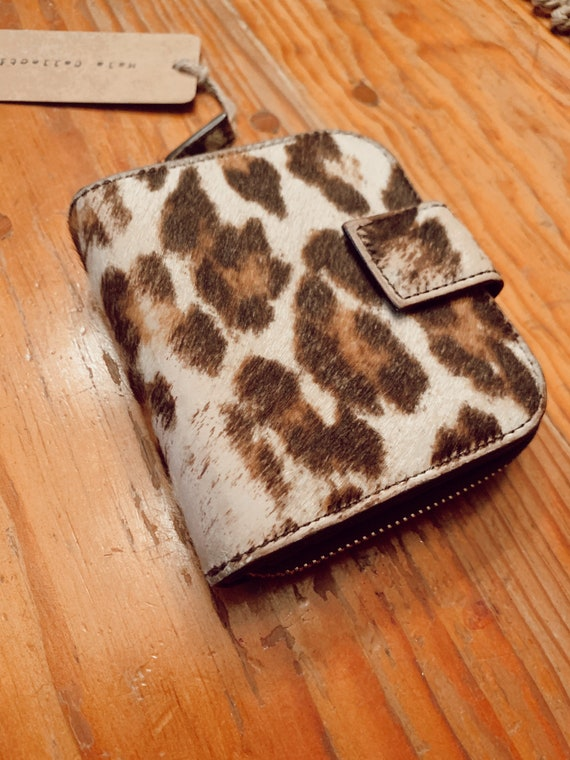 Vintage Prada Leopard Wallet