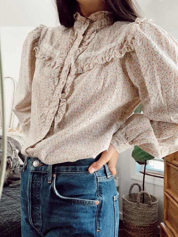 Vintage Cottagecore Prairie blouse