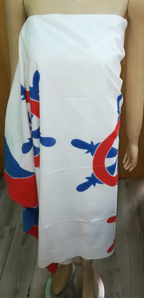 Nautical Cotton Batik Sarong
