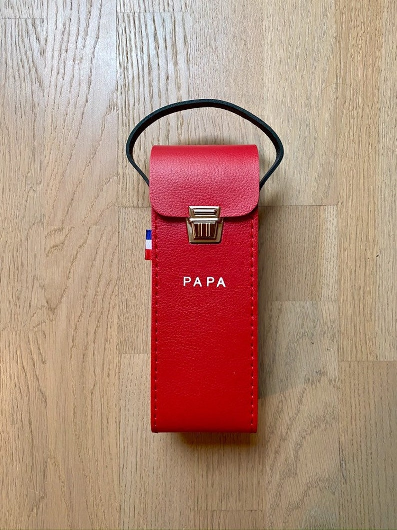 Very strong and very pretty petanque bag in faux leather and image 0