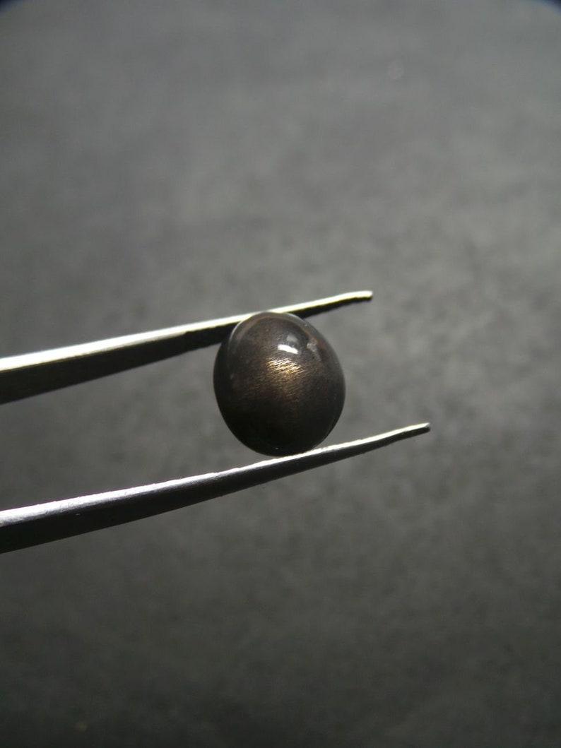 Sunstone Moonstone Gemstone Cabochon-Sunstone Moonstone Cabochons-Natural Sunstone Moonstone Smooth Oval Shape Cabochon-12x10x8 MM-BSW9274