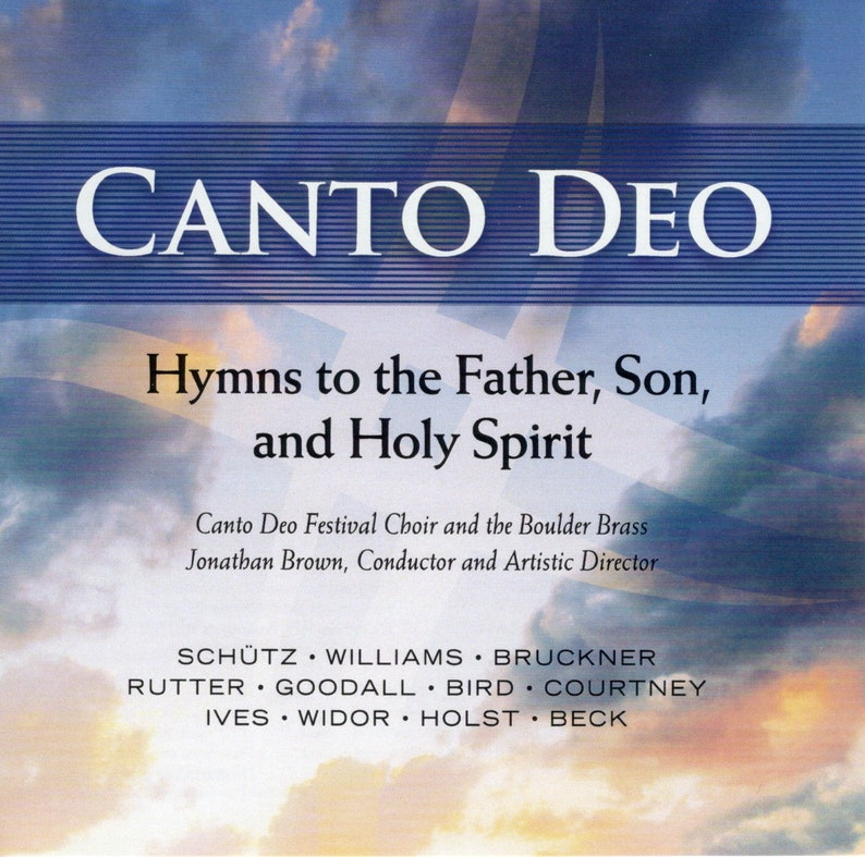 CD Hymn to the Father Son and Holy Spirit image 0