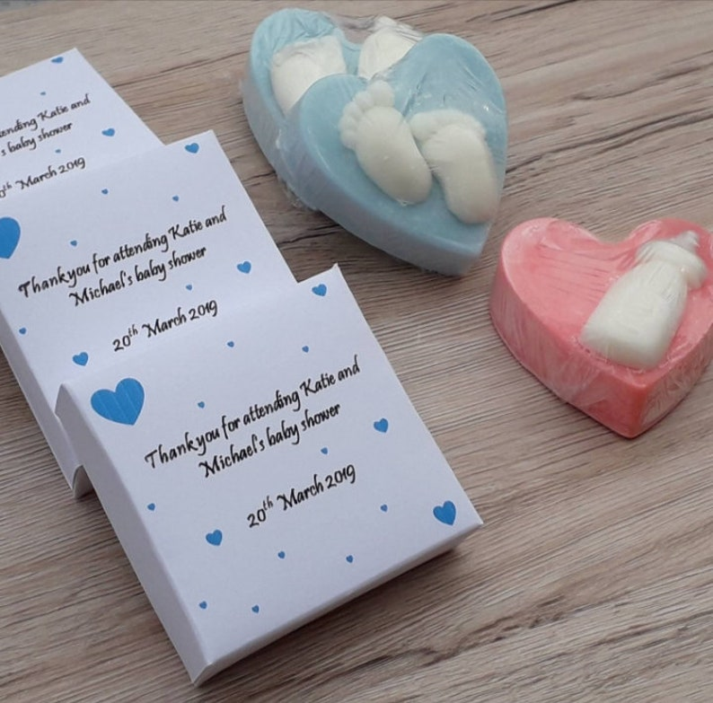 20 Baby Shower Handmade and Scented Wax Melt Favours