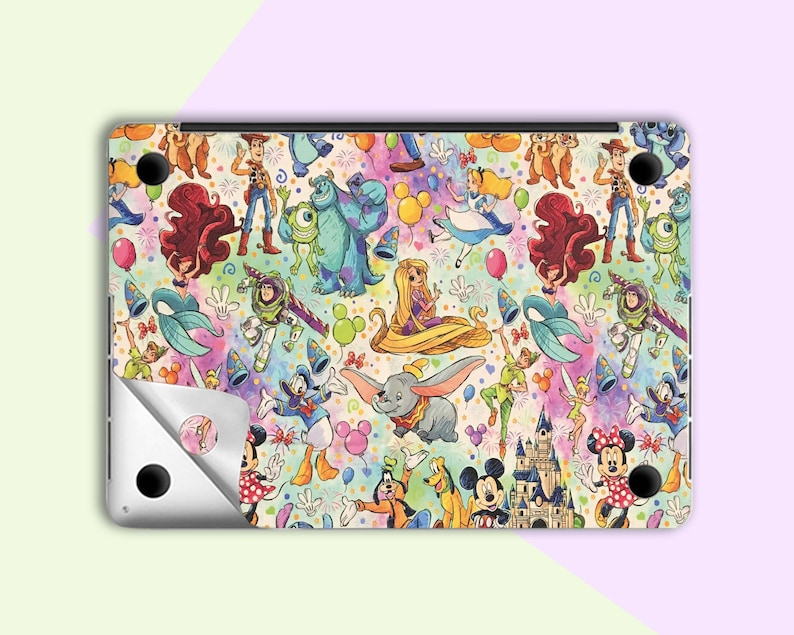 Cartoon macbook skin macbook pro 13 2019 skin Laptop sticker macbook Air 13 2020 sticker macbook 12 inch skin macbook Pro Retina 15 decal