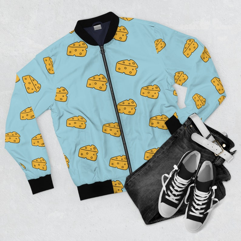 Cheese Lover Bomber Jacket image 0