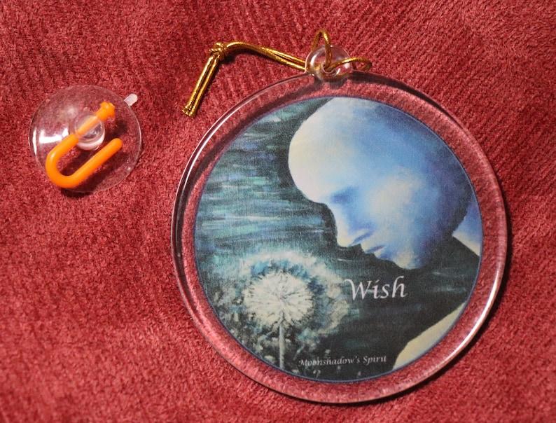 Wish Suncatcher Ornament image 0