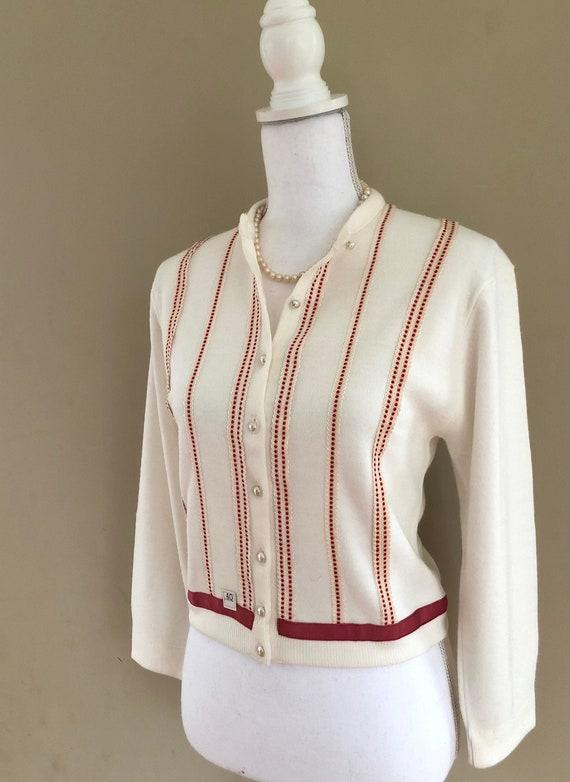 1950s Embellished Cardigan