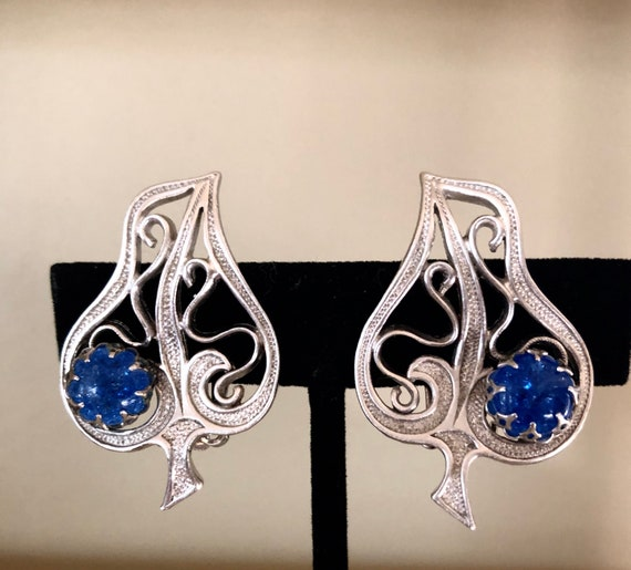 Authentic Schiaparelli Earrings 1950s