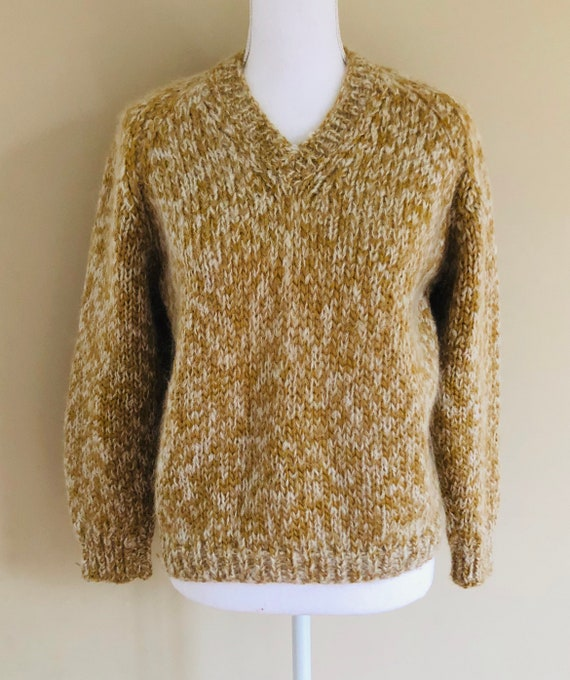 Vintage Mohair Pullover Sweater Italy