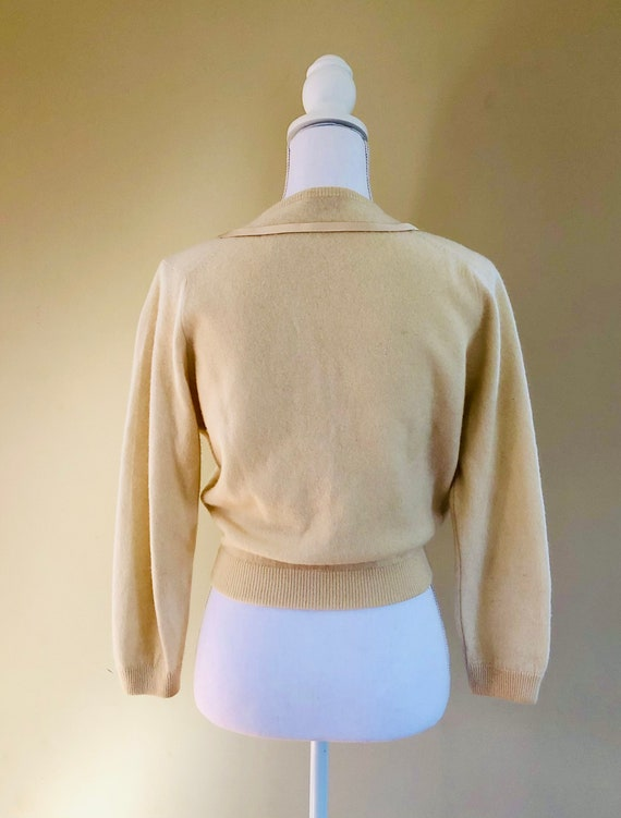 1950s Cashmere Cardigan - image 7