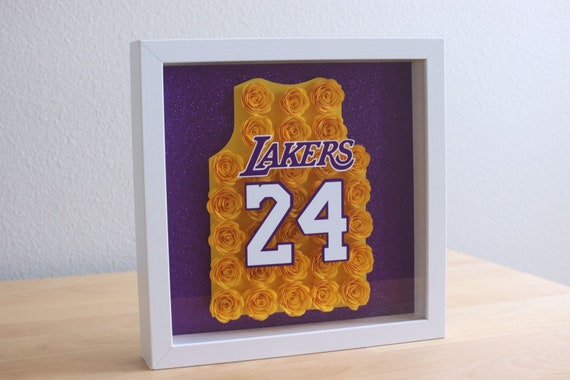 Kobe Jersey Shadow Box