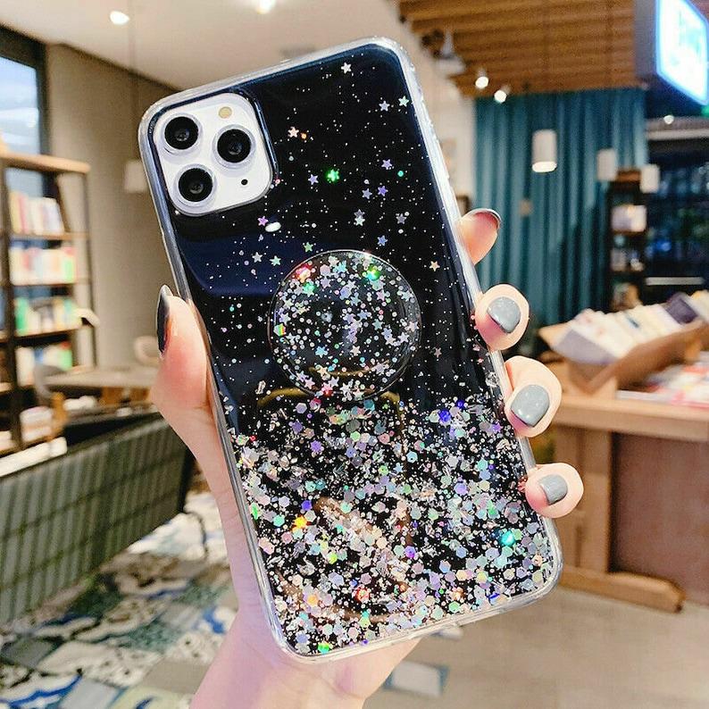 Glitter Clear Case for iPhone 12 pro Max / 12 mini / 12 11 ...